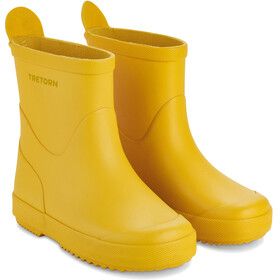 Tretorn Kids Wings Monochrome Rubber Boots Yellow
